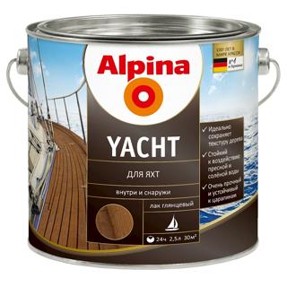 ალპინა Yacht დამცავი ლაქი 2.5 ლ