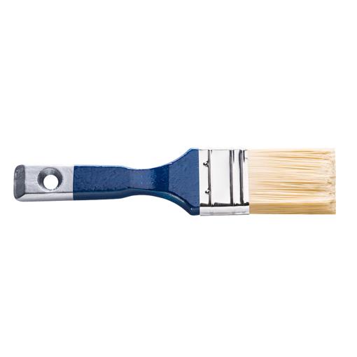 ფუნჯი ბრტყელი აკრილის საღებავისთვის 1,5'' (ლურჯი სახელურით)  Seria *43*