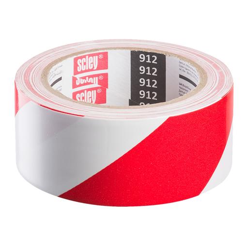 სანიშნე ლენტი (წითელი/თეთრი) 48*33მ