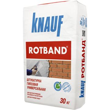 Picture of კნაუფის თაბაშირის უნივერსალური ბათქაში Knauf Rotband  (როტბანდი)  30კგ