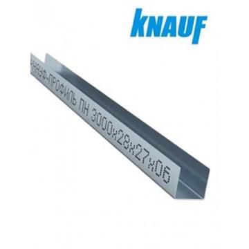 Picture of კნაუფი-KNAUF ჭერის UD 0.60 მმ სისქის პროფილი (უდე)