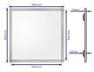 Picture of LED დიოდური სანათი შეკიდული (ამსტრონგი) KNAUF AMF ჭერისთვის 600x600 მმ დროსელით