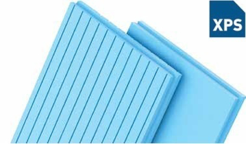 Picture of XPS ფილა, ფასადის კედლის დასათბუნებლად 5 სმ ლურჯი  ( 1 შეკვრა - 5.76 კვ.მ)
