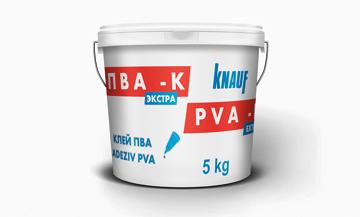 Picture of უნივერსალური წებო ემულსია 5კგ  KNAUF PVA K EXTRA
